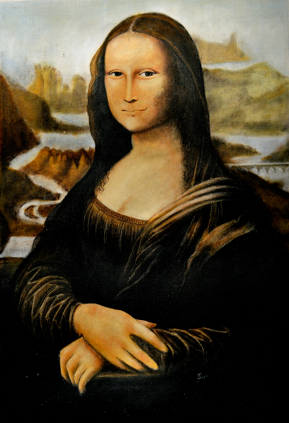why monalisa painting famous A few reasons why mona lisa is very famous are because of its painter, the speculation of who was the woman in the painting and the news about the stolen painting monomials was very famous in early 1500.